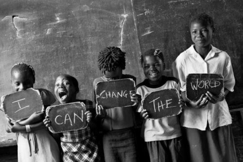 I Can Change The World - Inspiring Pictures