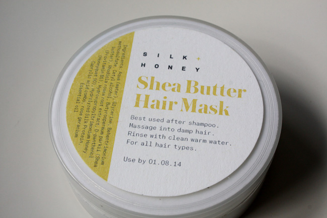 Silk + Honey shea butter hair mask