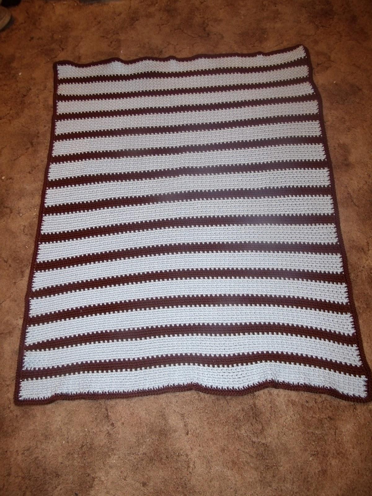 Family, Books and Crochet...Oh My!: Fast Easy Crochet Baby Blanket
