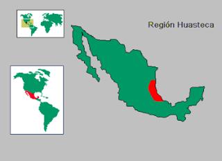 ubicacion region huasteca