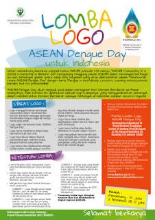 lomba logo asean dengue dunialombaku.blogspot.com