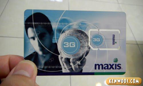 maxis sim card