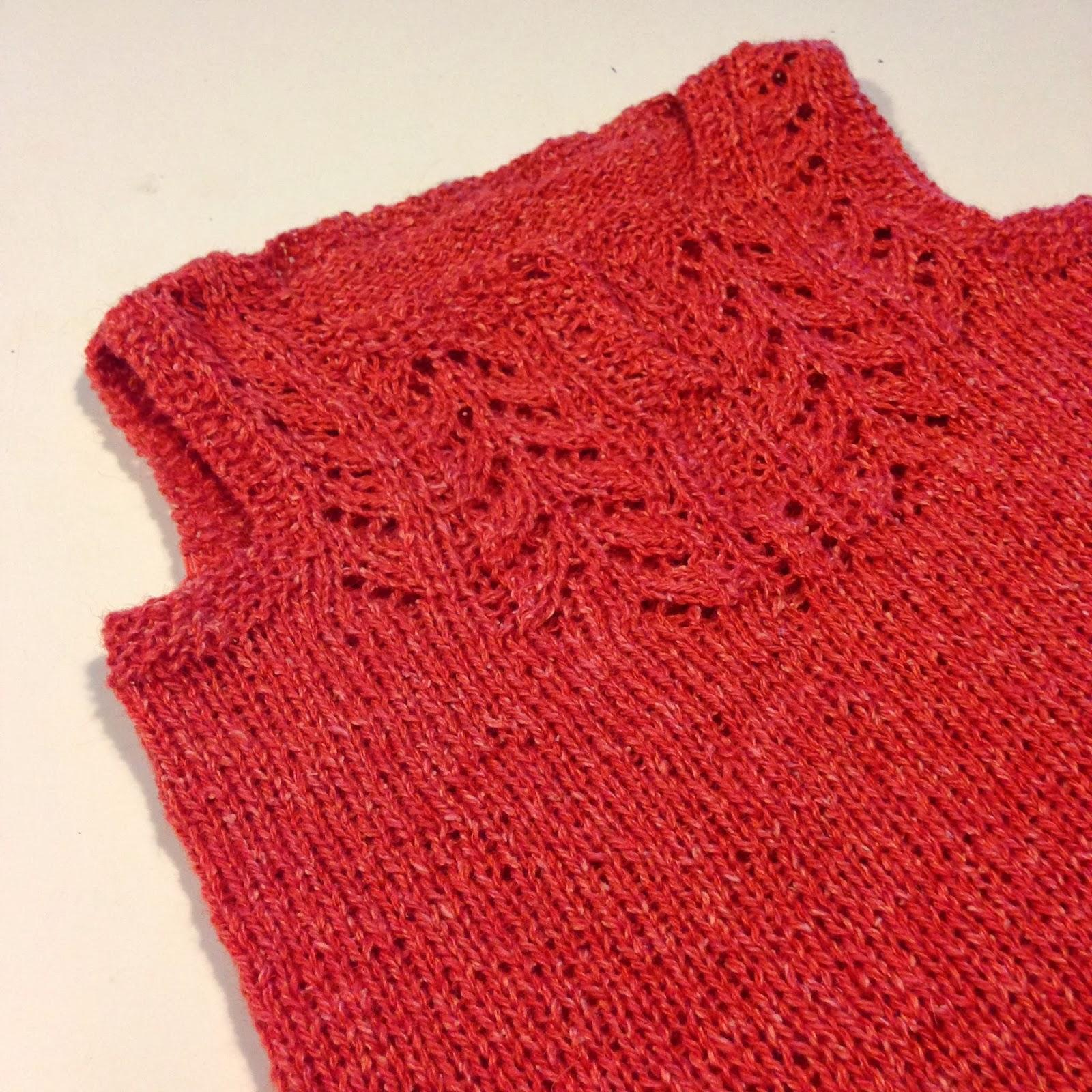 strikket babytrøje gratis opskrift