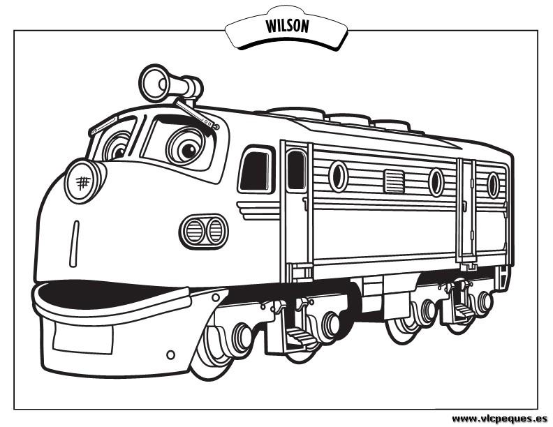 chuggington dibujos para colorear | VLC peque