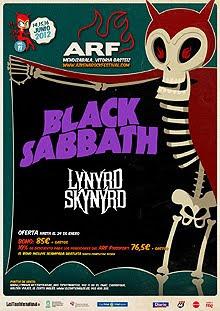 Black Sabbath y Lynyrd Skynyrd al Azkena Rock Festival 2012