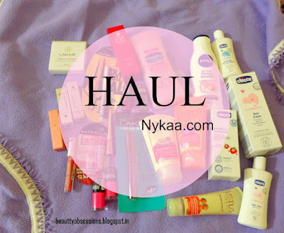 A Nykaa Haul...- Lakme, Maybelline, Chicco, Lotus ,etc...