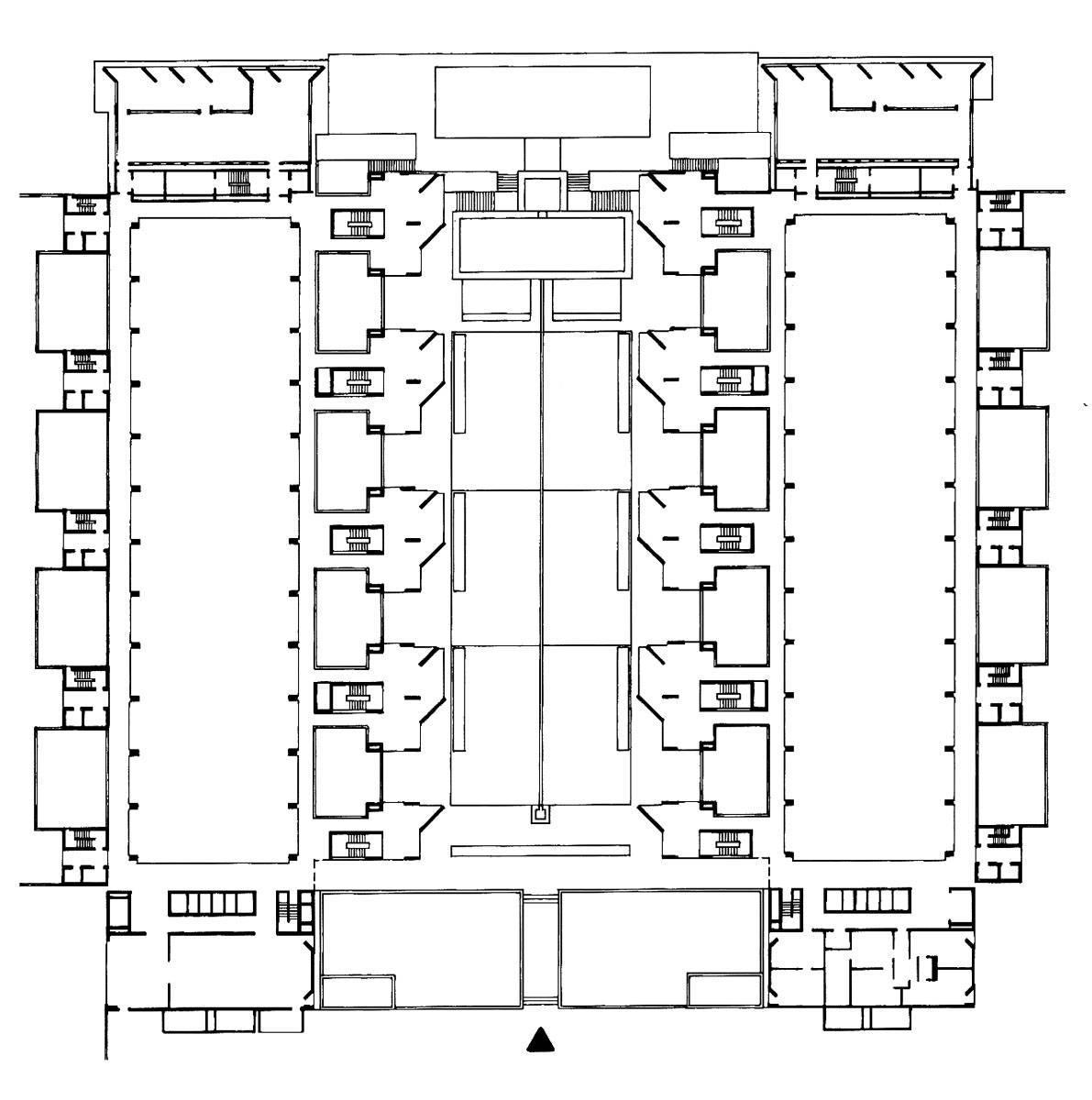 babel a blog of modern architecture salk institute architecture salk institute floor plan