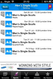 London 2012: Official Results App - Free