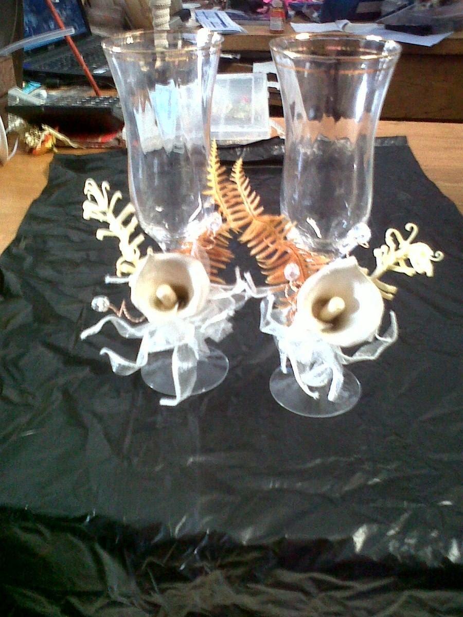 Copas de Boda Decoradas, parte 1