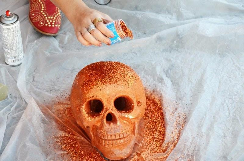 Clavera Escarchada para Halloween