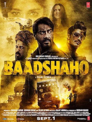 Poster Of Hindi Movie Baadshaho 2017 Full HD Movie Free Download 720P Watch Online