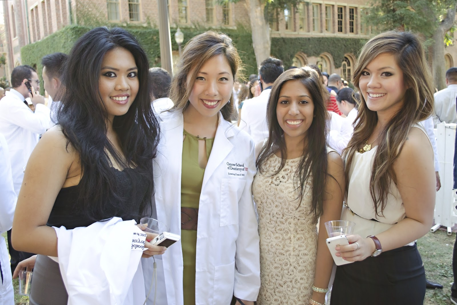 Collection White Coat Ceremony Dress Pictures - Reikian