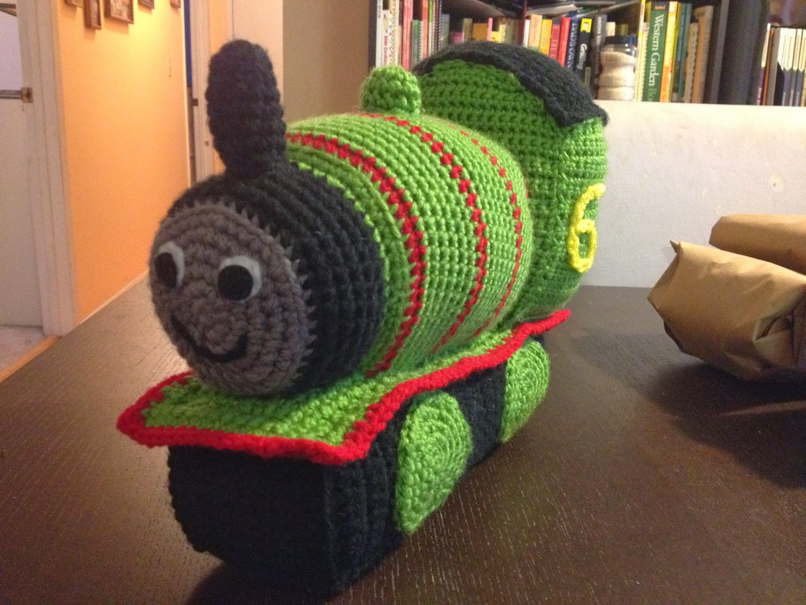 Free Crochet Hat Pattern For Thomas The Train : Tansy Dolls: The Percy Pattern!