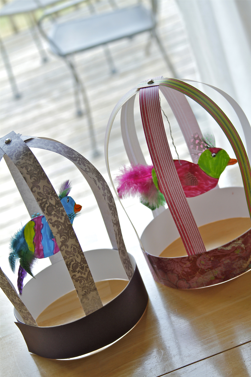 Craft Ideas For Bird Cages