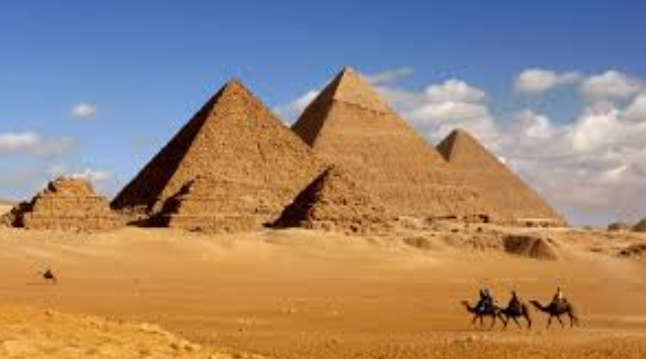 See The PYRAMIDS and VALLEY of THE KINGS