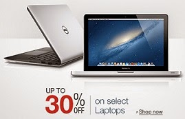 Upto 30% Off on Laptops Dell | HP | Lenovo | Acer | Asus @ Amazon