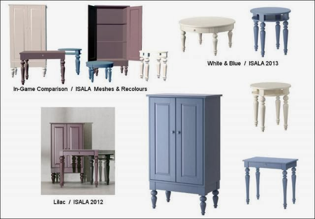 The Sims 2 Finds IKEA Addons ISALA Collection  LeeFish