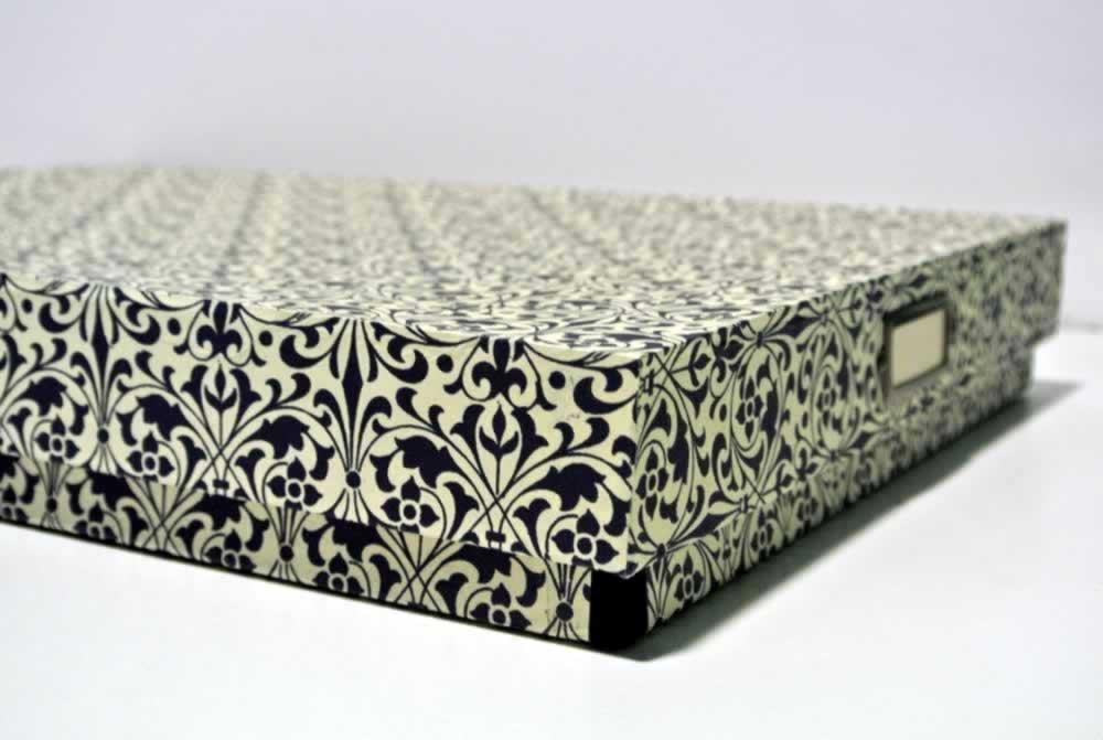 Cartonnage creativo by ada restaurar una caja - Cajas grandes de carton decoradas ...
