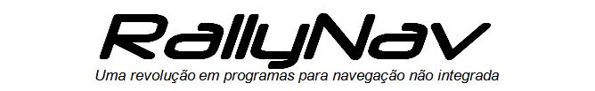 Software para navegação em Rally de Regularidade. Programa para navegação em Rali de Regularidade