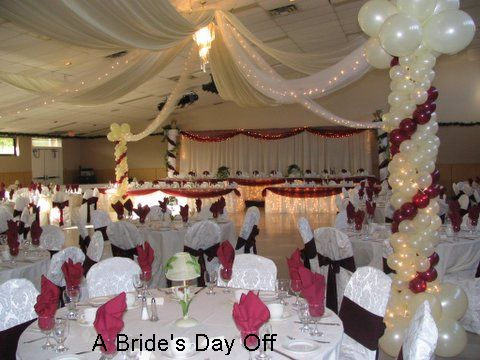 New wedding recetion wedding reception ideas for Wedding hall decoration photos