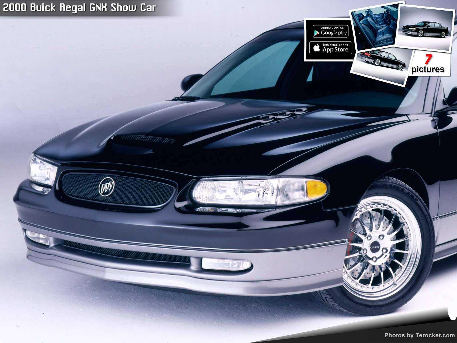 Hình ảnh xe ô tô Buick Regal GNX Show Car 2000 & nội ngoại thất
