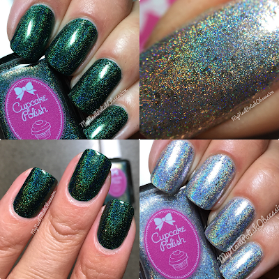 Cupcake Polish Dragon Scales & Ice Ice Baby