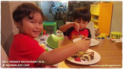 restaurants with kids menu kuala lumpur
