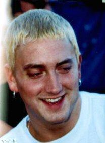Eminem's smile teeth photo