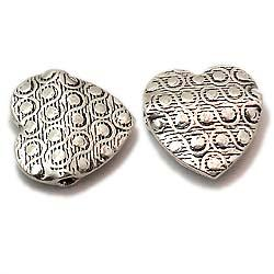 Excellent Sterling Stamped Flat Beads