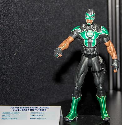 DC Collectibles New 52 Simon Baz Green Lantern figure
