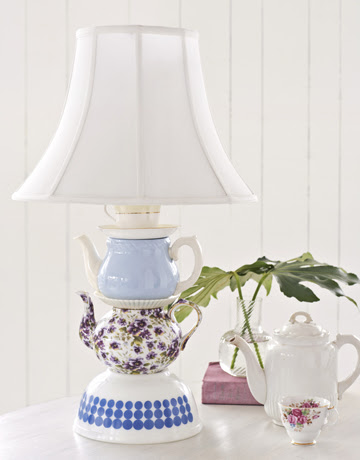 This teacup lamp is bound to light up a room and spark conversation!