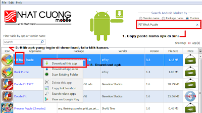 DOWNLOAD+APK Cara Download File APK Dari Google Play Melalui PC