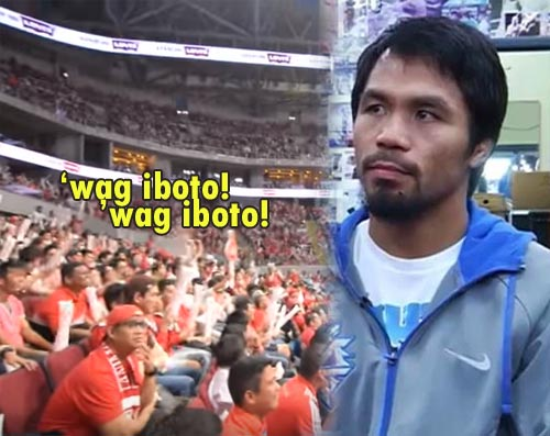 manny pacquiao wag iboto