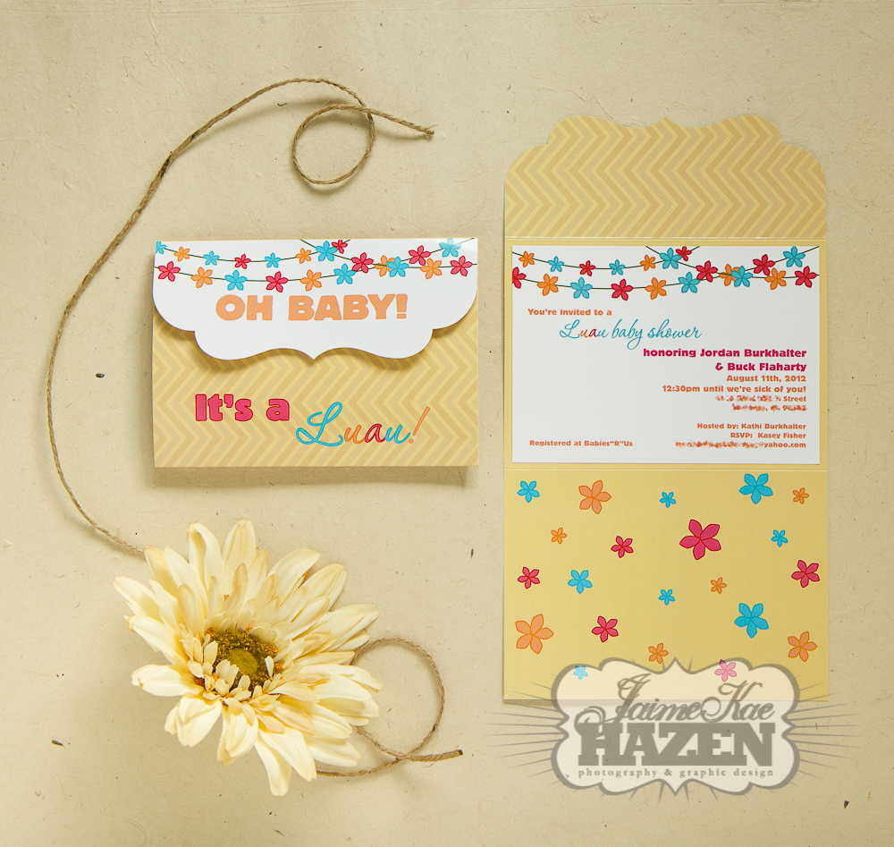 Jaime Kae Hazen {photography + graphic design}: Luau Baby Shower ...