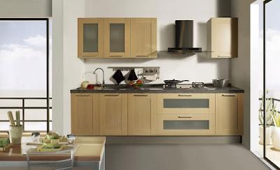 lemari dapur minimalis elegan