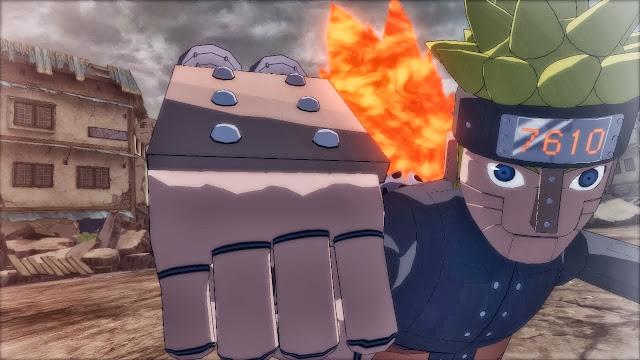 7610 Robot Naruto Storm Revolution