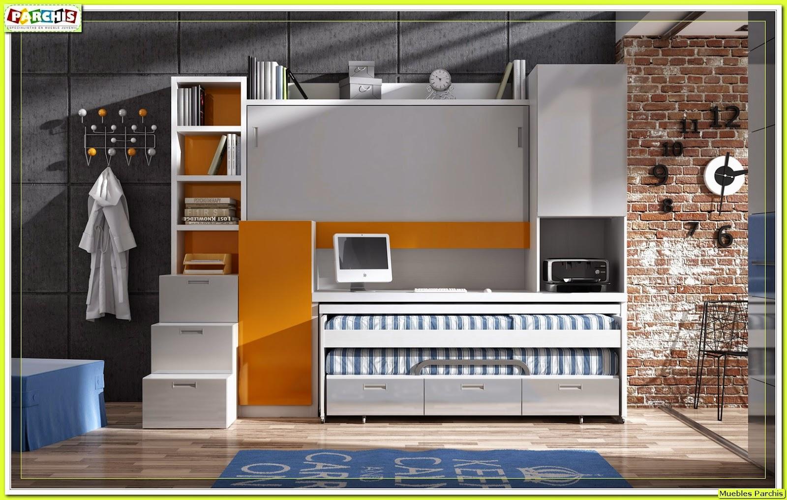Muebles juveniles dormitorios infantiles y habitaciones juveniles en madrid coleccion de - Camas abatibles en madrid ...