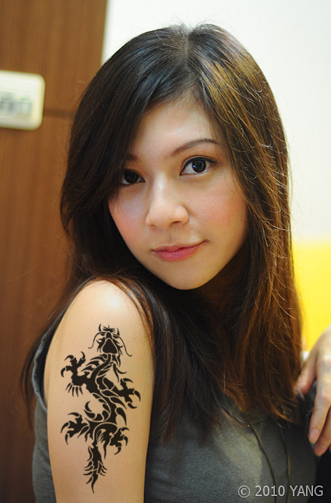 Dragon Tattoos Design For Girls Reviews Women Tribal Chinese B C