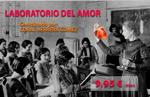 Únete al Laboratorio del Amor, por 10 euros al mes, o 100 euros al año