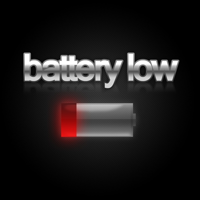 how to change the battery low tone