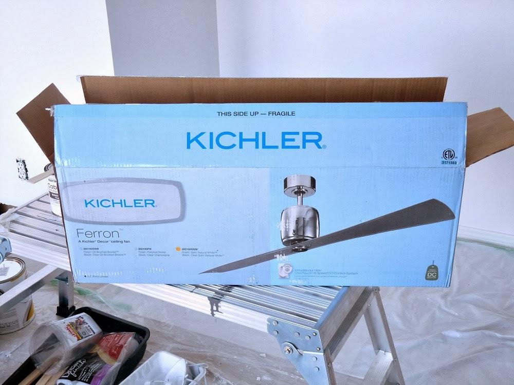 Kichler Ferron ceiling fan