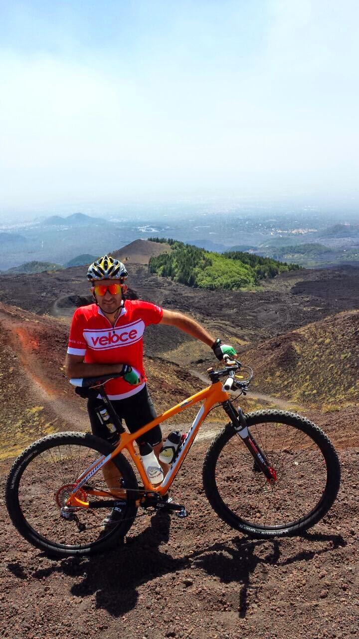 cycling climb etna volcano