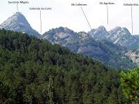 La Serra de Picancel des del Pont de Cal Pei