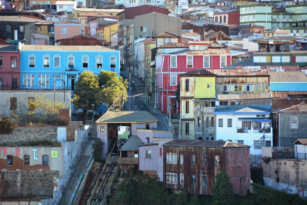 Valparaiso city colors