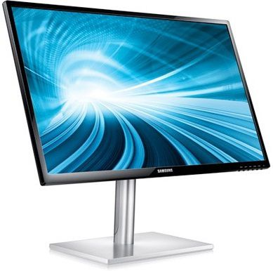Samsung Series 7: Touch type Windows 8-optimized Monitors Detailed