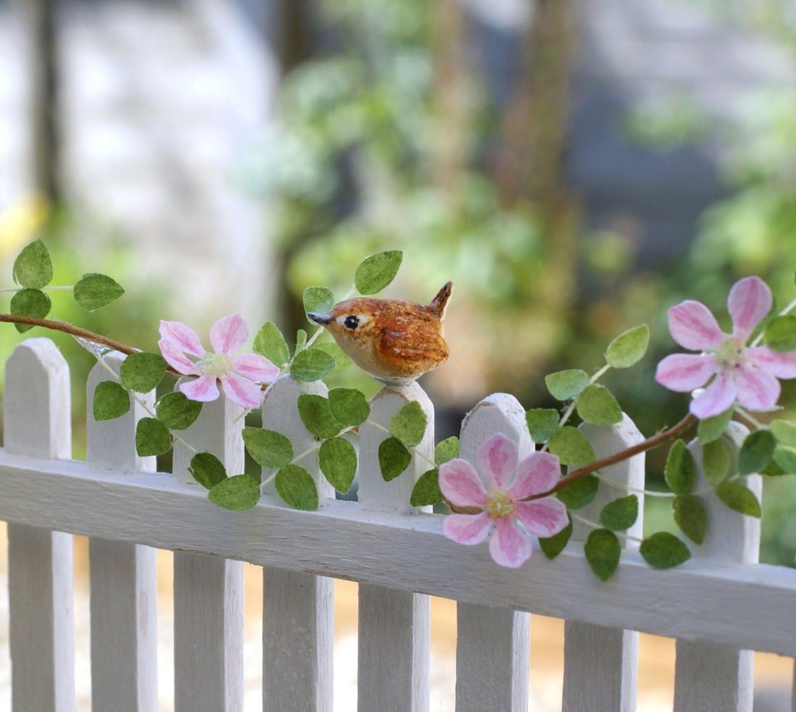 A Tiny Handmade Wren