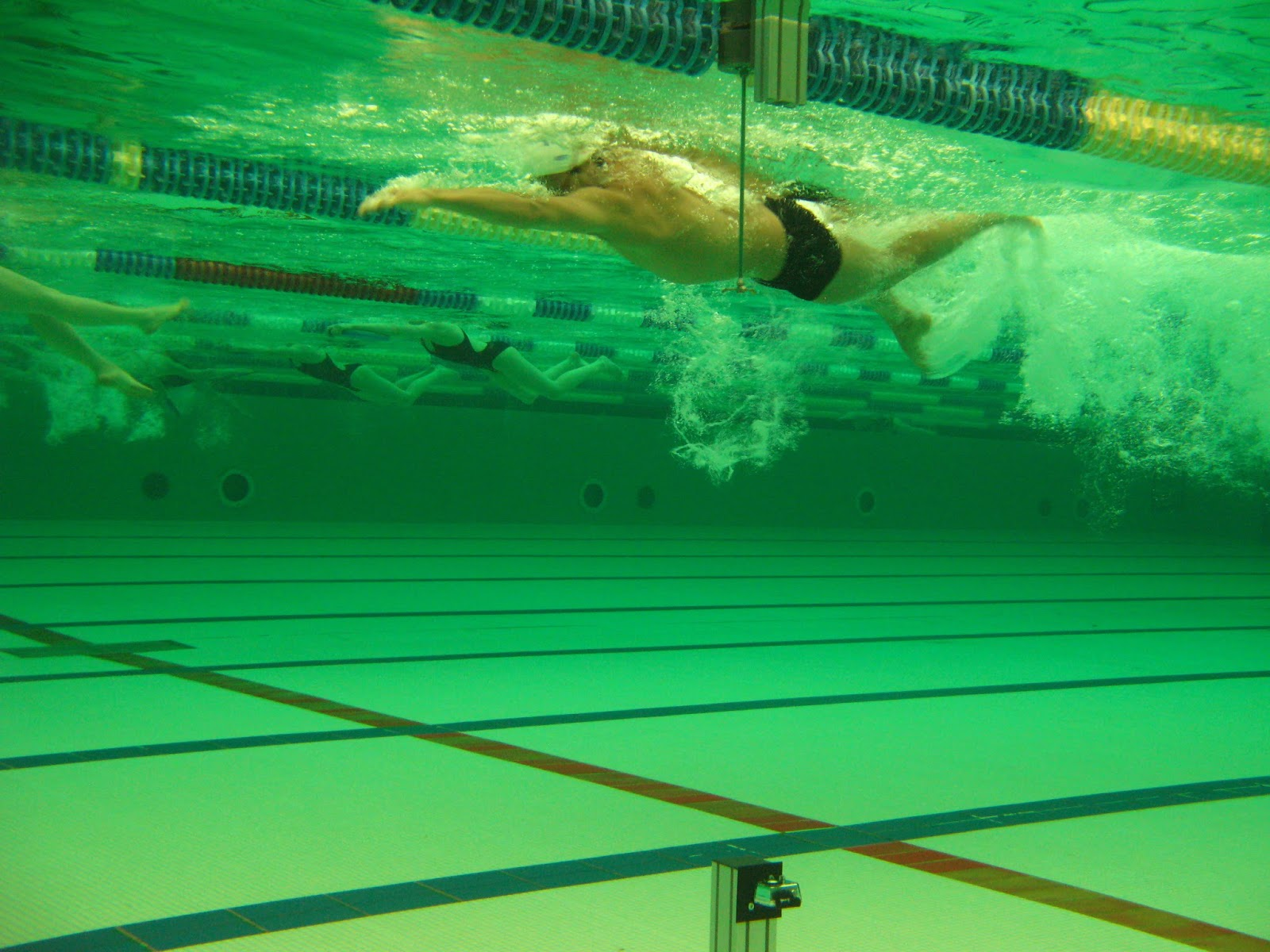 Photo by: Getty Backstroke Breakout