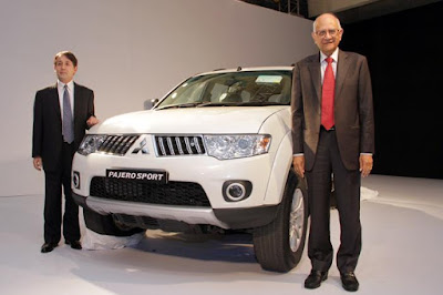 new mitsubishi pajero sport launching