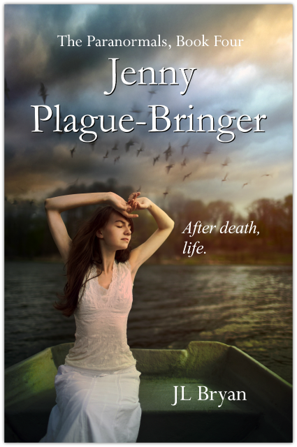 Cover Reveal & Giveaway: Jenny Plague-Bringer by J.L. Bryan