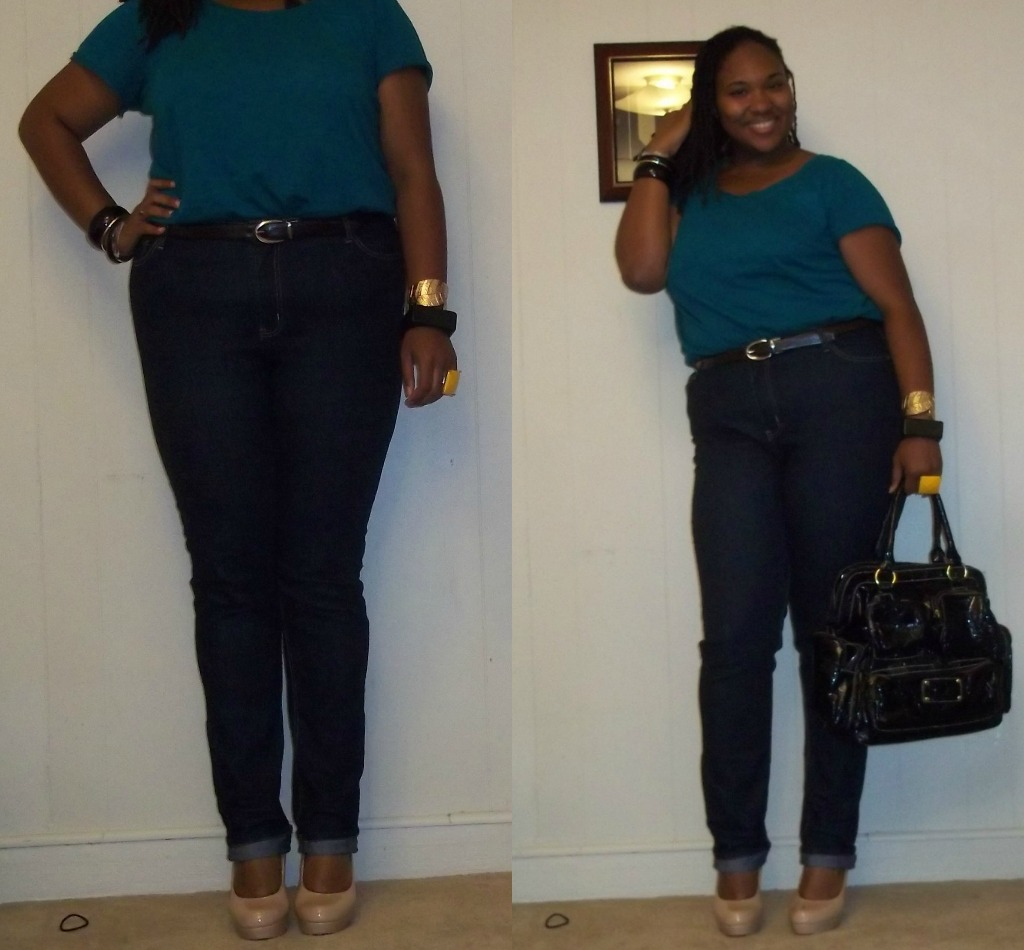 Belts Skinny Jeans and Tucked in Shirts - A Thick Girlu0026#39;s ...